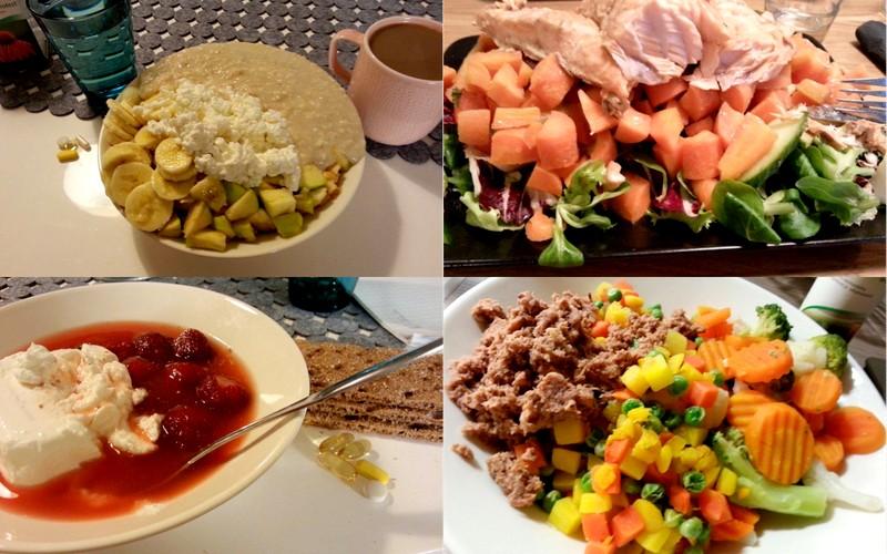Soutajan raskas ruokapäiväkirja: Lähes 7000 kaloria päivässä